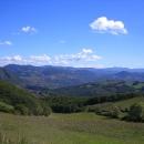 Rolling Emilia Romagna landscape